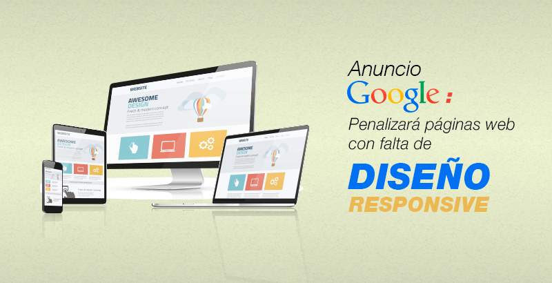 Google da mas relevancia a paginas responsive innova cusco