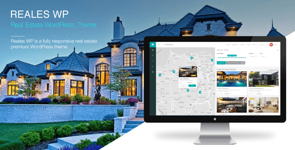 Reales WP – Real Estate WordPress Theme