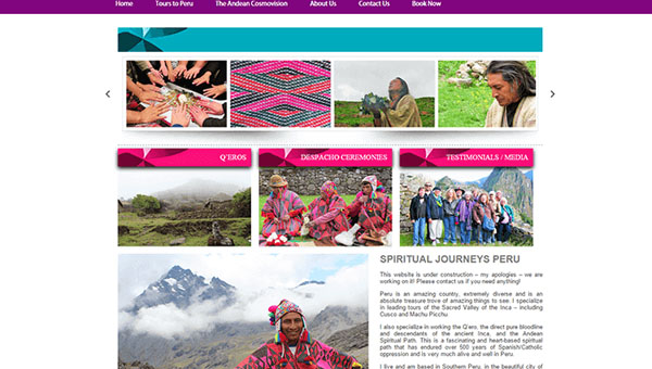 SPIRITUAL JOURNEYS PERU