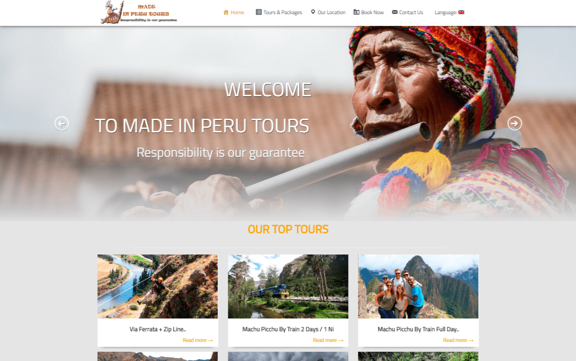 made in peru tours
